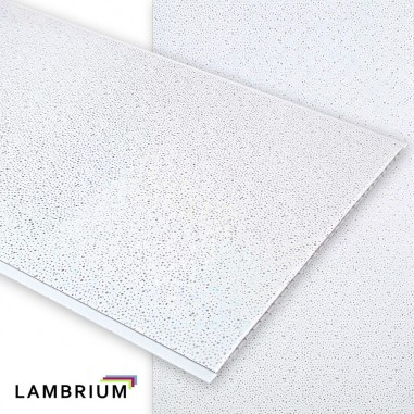 Lambriu PVC 250mm CH-20 White