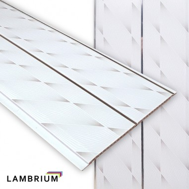 Lambriu PVC 200mm G60 - silver
