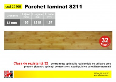 Parchet laminat (12mm) 8211